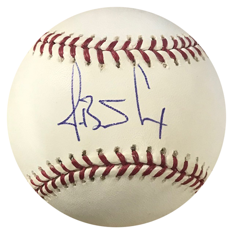 J.B. Cox Autographed Official Major League Baseball (MLB)
