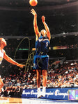 Juwan Howard Autographed 8x10 Basketball Photo- Washington Wizards