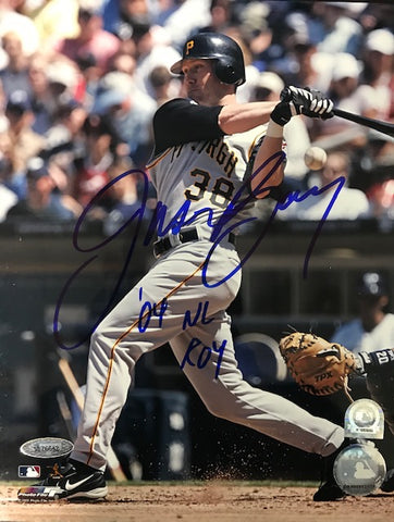 Jason Bay Autographed 8x10 Baseball Photo