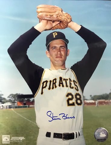 Steve Blass Autographed 8x10 Baseball Photo