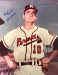 Bob Buhl Autographed 8x10 Baseball Photo
