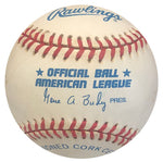 Joe Carter Autographed Official American League Baseball