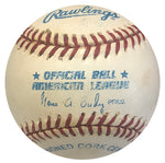 Deion Sanders Autographed Official American League Baseball