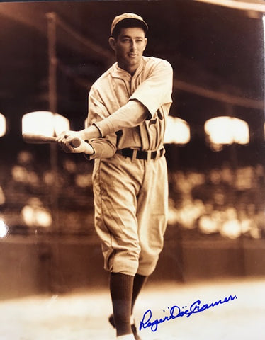 Doc Cramer Autographed 8x10 Baseball Photo