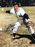 Jerry Coleman Autographed 8x10 Baseball Photo