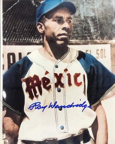 Ray Dandridge Autographed 8x10 Baseball Photo