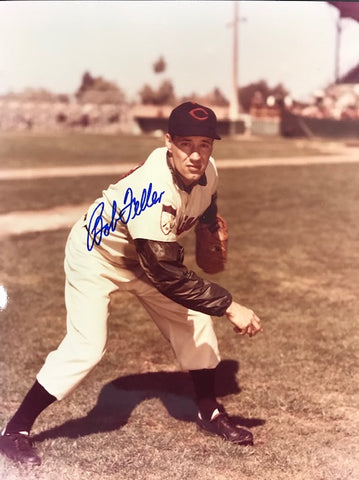 Bob Feller Autographed 8x10 Baseball Photo