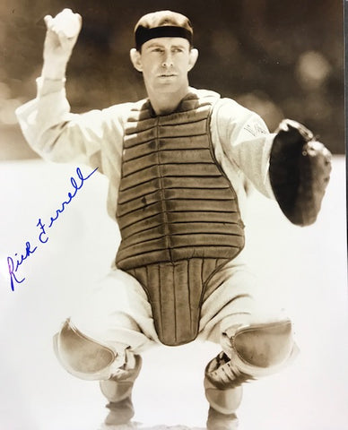 Rick Ferrell Autographed 8x10 Baseball Photo