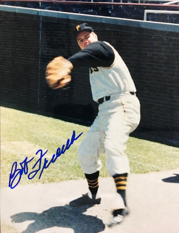 Bob Friend Autographed 8x10 Baseball Photo - Pittsburgh Pirates