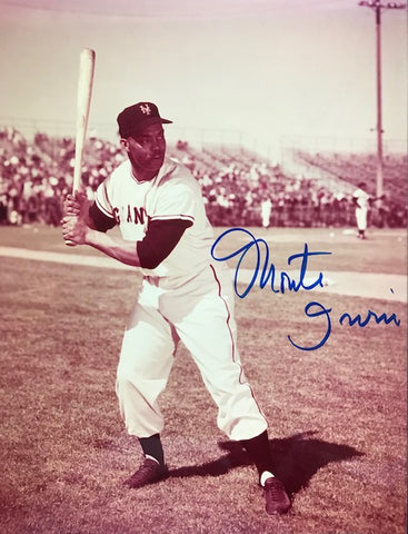 Monte Irvin Autographed 8x10 Baseball Photo - New York Giants