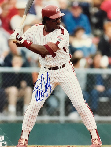 Steve Jeltz Autographed 8x10 Baseball Photo