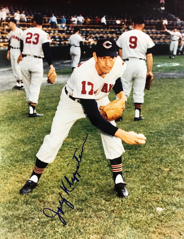 Johnny Klippstein Autographed 8x10 Baseball Photo