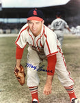Max Lanier Autographed 8x10 Baseball Photo