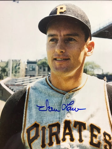 Vern Law Autographed 8x10 Baseball Photo