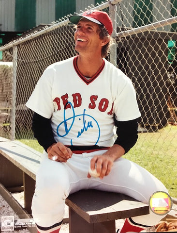 Bill Lee Autographed 8x10 Baseball Photo - Boston Red Sox