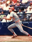 Hal Morris Autographed 8x10 Baseball Photo