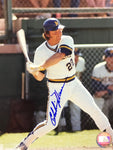 Charlie Moore Autographed 8x10 Baseball Photo