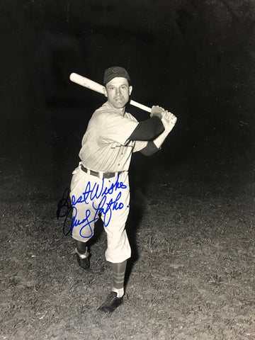 Andy Pafko Autographed 8x10 Black & White Baseball Photo