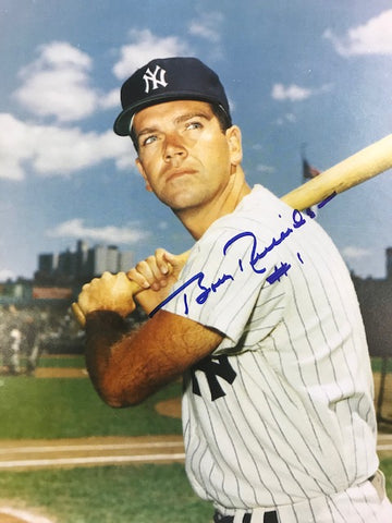 Bobby Richardson Autographed 8x10 Baseball Photo