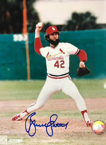 Bruce Sutter Autographed 8x10 Baseball Photo