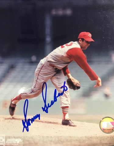 Sonny Siebert Autographed 8x10 Baseball Photo