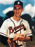 Warren Spahn Autographed 8x10 Baseball Photo