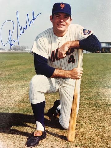 Ron Swoboda Autographed 8x10 Baseball Photo