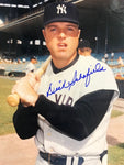 Dick Schofield Autographed 8x10 Baseball Photo