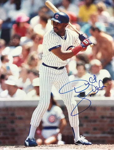 Dwight Smith Autographed 8x10 Baseball Photo