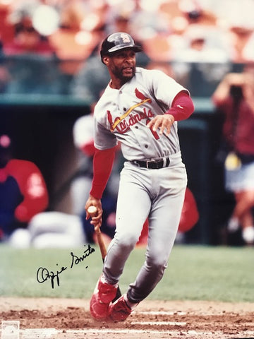 Ozzie Smith Autographed 8x10 Baseball Photo