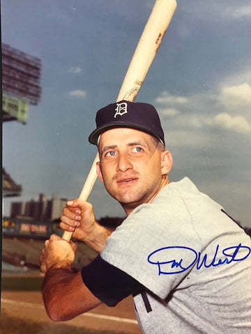 Don Wert Autographed 8x10 Baseball Photo