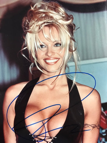Pamela Anderson Signed 8x10 Celebrity Photo