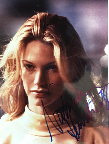 Natasha Henstridge Autographed 8x10 Celebrity Photo