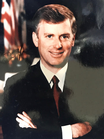 Dan Quayle Autographed 8x10 Celebrity Photo