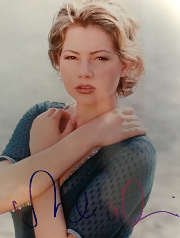 Michelle Williams Autographed 8x10 Celebrity Photo