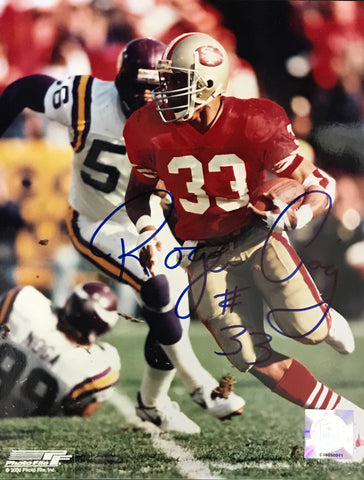 Roger Craig Autographed 8x10 Football Photo