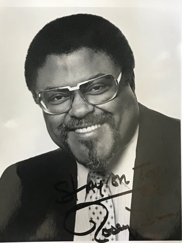 Rosey Grier Autographed Black & White 8x10 Football Photo