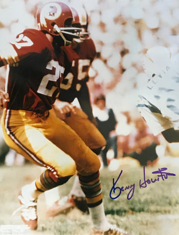 Kenny Houston Autographed 8x10 Football Photo