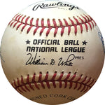 Brooklyn/Los Angeles Dodgers Hofers & Stars Autographed Baseball (JSA)