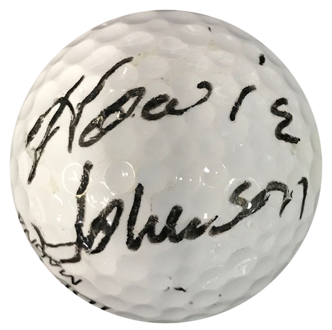 Howie Johnson Autographed Top Flite 2 Magna Golf Ball