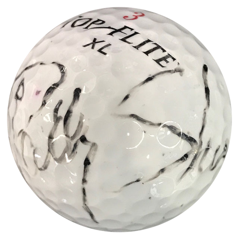Patty Sheehan Autographed Top Flite XL 3 Golf Ball