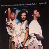 The Pointer Sisters Autographed Break Out Vinyl Record (JSA)