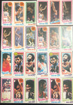 22 Assorted Kareem Abdul Jabbar 1980-81 Topps Cards