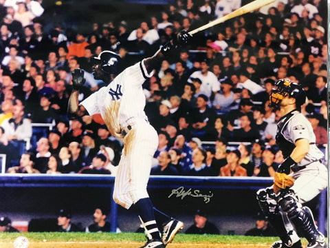 Alfonso Soriano Autographed 16x20 Baseball Photo