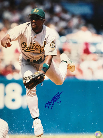 Miguel Tejada Autographed 16x20 Baseball Photo