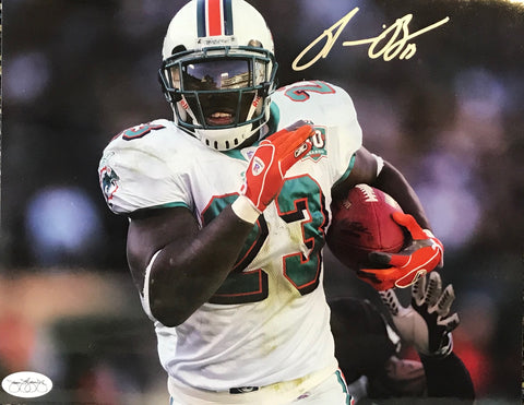 Ronnie Brown Autographed 8x10 Football Photo (JSA)