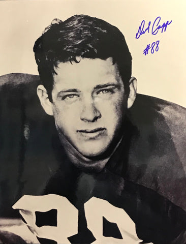 Dick Capp Autographed 8x10 Football Photo