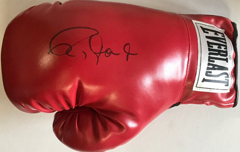 Roy Jones Jr. Autographed Red Everlast Right Boxing Glove (JSA)
