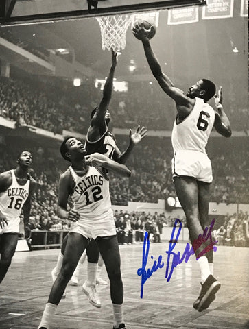 Bill Russell Autographed 8x10 Basketball Photo