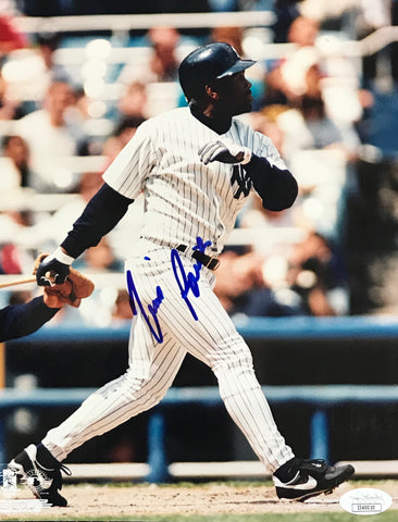 Tim Raines Autographed 8x10 Baseball Photo (JSA)